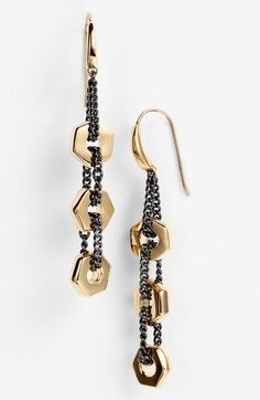 MARC BY MARC JACOBS 'Bolts' Linear Earrings available at #Nordstrom