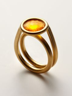 FIRE OPAL RING by Arunashi at Gilt