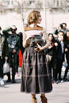 Paris Fashion Week AW 2015....Ulyana