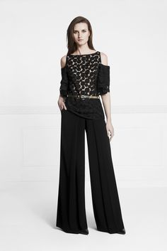 Total look black for going out tonight. Lou top and Morgan pant from the spring summer collection. #annefontaine #fashion #spring #summer #black www.annefontaine.com