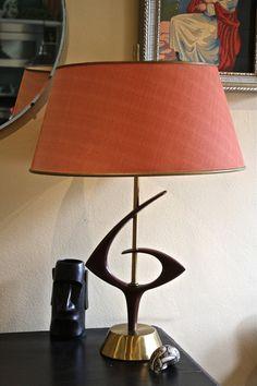 Atomic Vintage Mid century Table Lamp # 1950 atomic lamp, #Mid century Lamp