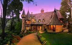 Thorngrove Manor, and excellent example of Storybook Style architecture.