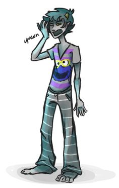 "there was this ""draw your patron troll in what you're wearing"" thing so"