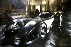 The Batmobile from Tim Burton's Batman (1989). | The 24 Most Iconic Movie Cars Of All Time
