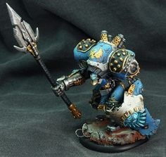 Warmachine Cygnar Centurion (army) Battle Robots, Privateer Press, Fantasy Model, War Hammer, Fantasy Miniatures, Horde, Mini Paintings, Paint Schemes, Miniture Things