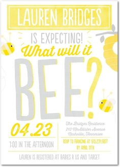 What will it bee? Th
