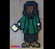 Planet of the Apes - Dr. Zira - Perler Beads on Etsy, $11.00