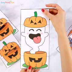 Surprise Pumpkin Halloween Cards Ghost Printable