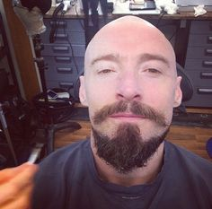 Hugh Jackman shaved his head to play the pirate Blackbeard in the upcoming Peter Pan movie.