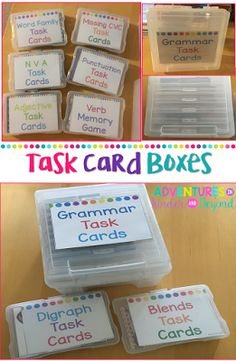 Hi friends! I am back today with another organization project that was on my summer to do list. For years I have been using task cards w...