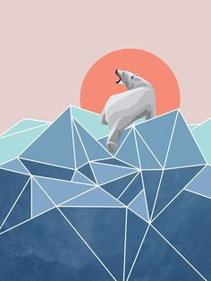 Polar Bear live in North Pole on Behance