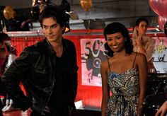 "Behind the scenes of ""The Vampire Diaries"" Unpleasantville Serie Vampire Diaries, Vampire Diaries The Originals, Stefan Salvatore, Vampire Shows, Damon And Bonnie, Bonnie Bennett, Ian Somerhalder, The Vamps, Losing Her"