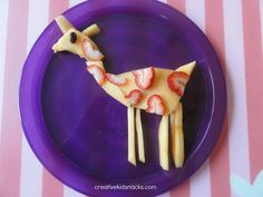 Fruit Giraffe | Creative Kid Snacks