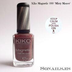 "Kiko Magnetic 700 ""Misty Mauve"""