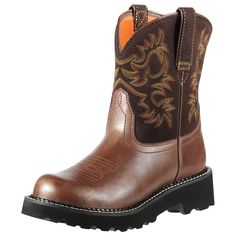 Ariat Women's Fatbaby Western Cowboy Boot * Remarkable product available now. : Ladies boots