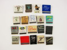 Instant Matchbook Collection - 1950s and 60s - Mexico - California to Texas - Arizona to Florida - Great Graphics and Colors