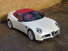 Alfa Romeo 8C Spider for sale at Romans International.