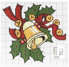Points de croix *♥* Cross stitch Christmas                                                                                                                                                      Más