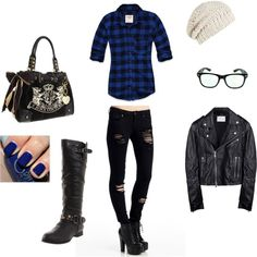 Grunge Chic, created on Polyvore
