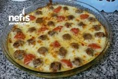 Beşamelli Top Köfte Tarifi – Sulu yemek – The Most Practical and Easy Recipes Turkish Recipes, Italian Recipes, Ethnic Recipes, Meatball Recipes, Meat Recipes, Turkish Kitchen, Beef Recipes For Dinner, Fresh Fruits And Vegetables, Iftar