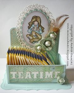 Tea-Box - Scrapbook.com