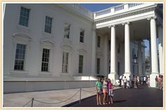 Washington DC tips for families - CiaoBambino - be sure to ask for a Junior Ranger Guide at White house