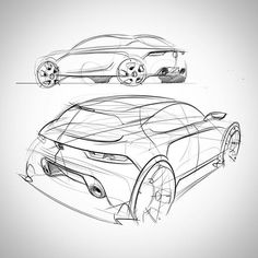 Fat Booty, Ms. #cardesign #transportationdesign #freehand #design #sketch #sketching #passion #cars #professional #love #industrialdesign #sketching #love #transportation