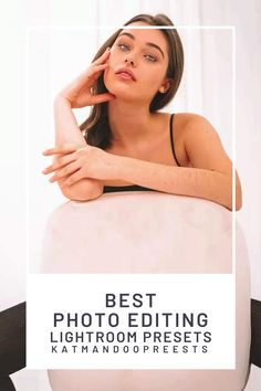 Best Photo Editing | Lightroom Presets Presets make your editing work much faster and easier, and if you use ones created by professional designers, they're also a good way to ensure your photos look like they were edited by a pro. If you need a quick review of the steps involved in installing your presets, here's a great guide to get started. #presets #lightroom #lightroompresets
