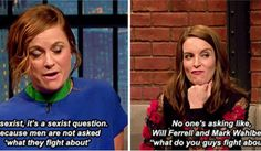 22 Times Tina Fey And Amy Poehler Stood Up For Women Everywhere. This post just made me appreciate these women even more