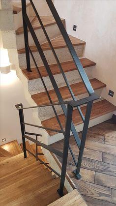 Steel Railings Стальное ограждение лестницы