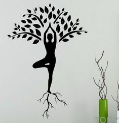 Wall Sticker Tree Art Home Decor Piece