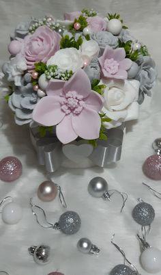 Bouquet, Soap, Vase, Table Decorations, Furniture, Home Decor, Homemade Home Decor, Bouquets, Flower Vases