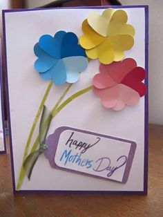 45 DIY Mother's Day Cards to show your LOVE! - Pink Lover Mother's Day Cards . 45 DIY Mother's Day Cards to show your LOVE! - Pink Lover Mother's Day Cards for Teens These samples would require olde Kids Crafts, Mothers Day Crafts For Kids, Mothers Day Cards, Happy Mothers, Easy Crafts, Mother Card, Mother Day Gifts, Easy Diy, Mother's Day Diy