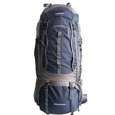 WASING 85l/80L Internal Frame Backpack Hiking Backpacking Packs for Outdoor Hiking Travel Climbing Camping Mountaineering -- Check out this great product.