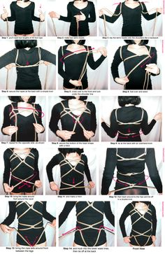Shibari Tutorial Loves Me Knot Harness