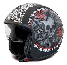 Premier Helmets Premier Jet Vintage SK9 Skull - PR9VIN19