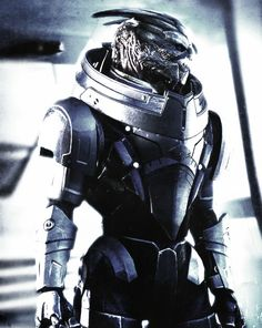 Mass Effect : Garrus, love him and his voice ❤️❤️❤️... Always got him and Shepard (female) together :)