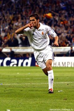In Pictures: Raul Gonzalez's Career At Real Madrid – Real Madrid Champions League, Uefa Champions League, Real Madrid Football Club, Best Football Team, Football Players, Raul Real Madrid, Real Madrid History, Real Madrid Wallpapers, Equipe Real Madrid