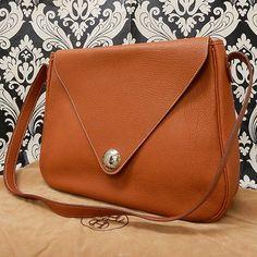 Rise-on-Vintage-HERMES-Christine-Brown-Leather-Shoulder-bag-Handbag-8
