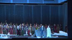"""Anna Netrebko Lady Macbeth  &  Simon Keenlys                           Joseph Calleja (Macduff), Iulia Maria Dan (Dama di Lady Macbeth)  Aria    Si colmi il calice di vino eletto  II Act II Scene Macbeth   Opera  """"By """"Giuseppe Verdi'                                                                  Paolo Carignani (Conductor) Bayerisches Staatsorchester The Chorus of Bayerische Staatsoper"""