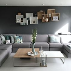 Check out these superbly stylish monochromatic living room decorating idea that will totally inspire you! Pick the best one and style up your home now! Accent Walls In Living Room, Room Decor, Home Decor Furniture, Living Room Decor, Drawing Room Decor, Couches Living Room, Apartment Living Room, L Shaped Living Room Layout, Monochromatic Living Room