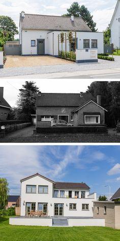 R novation tervuren extension ossature bois en fa ade for Greentown villas 1 extension