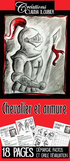Art Project: Knight and Armour Led Pencils, Wooden Pencils, Chateau Moyen Age, Learn To Sketch, Study French, 5th Grade Art, Ecole Art, Sketch Painting, Medieval Art