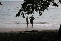 On the beach @ Manuel y Antonio