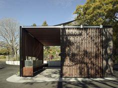 House Of Toilet / Daigo Ishii + Future-scape Architects ... Offentliche Toilette Park Landschaft