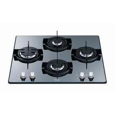 HOTPOINT - TD640SIXHAICE _ Table de cuisson Gaz - 1 foyer rapide 3 kW - Allumage intégré aux manettes - Sécurité gaz par thermocouple - Grilles mono-foyer émaillées.