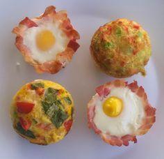 Pipapo Paleo: Rezept: Eiermuffin  ...eine kleine Frühstücksparad...