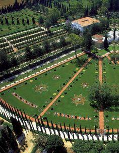 Baha, ich heilige Stätten in Haifa - UNESCO World Heritage Sites - Holy Places Palestine, Baha I Faith, Haifa Israel, Heritage Center, Holy Land, List, Pilgrimage, World Heritage Sites, Cool Photos