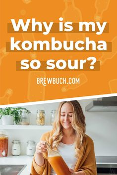 Is your kombucha too vinegary? Or does it ferment faster than it' should? Here's how to prevent and fix over-fermented, sour kombucha!