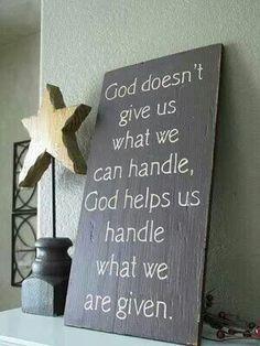 God helps us.
